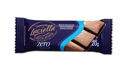 Laciela 20G Ao Leite Zero Açucar