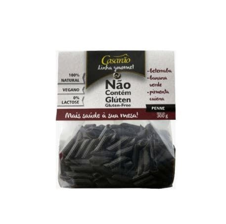 Macarrão Penne Beterraba, Banana Verde e Pimenta Caiena 300g - Casarão