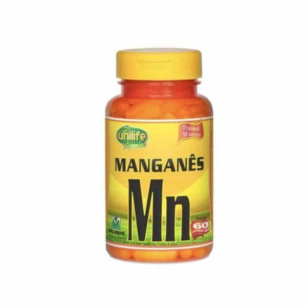Manganês Quelato 60 cáps. Unilife