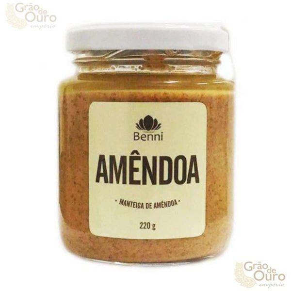 Manteiga de Amêndoa 220g Benni