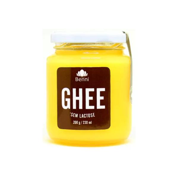 Manteiga Ghee 200g Benni