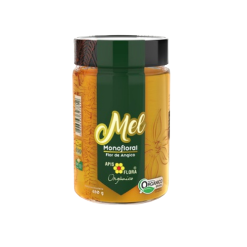 MEL ORGANICO ANGICO 480G APIS FLORA