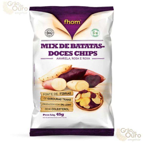 Mix de Batatas Doces Chips 45g
