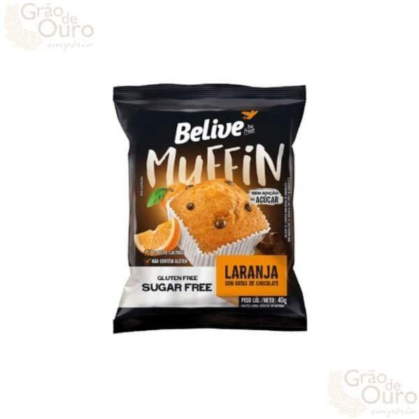 Muffin Laranja c/ Chocolate 40g Belive