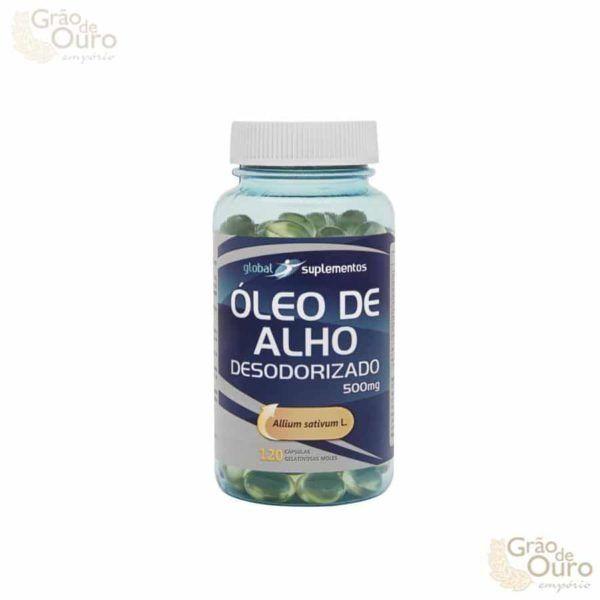 Óleo de Alho Desodorizado 500 mg 120 caps