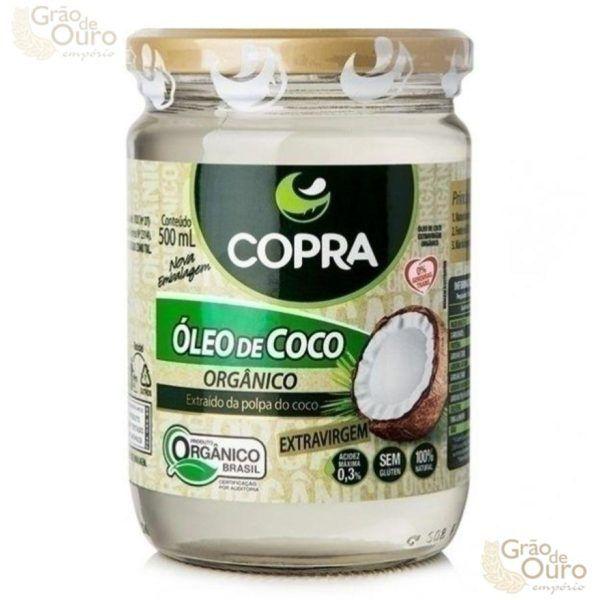Óleo de Coco 500ml Orgânico