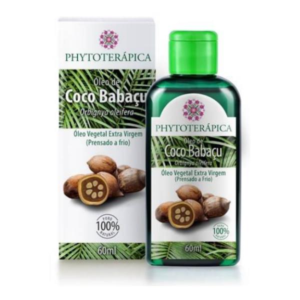 Óleo de Coco Babaçu 60ml Phytoterápica