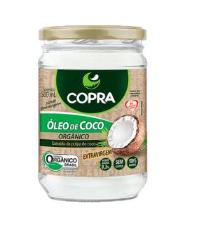 Óleo de Coco Orgânico 500ml Copra