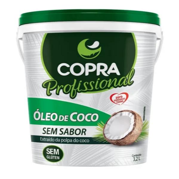 Óleo de Coco Sem Sabor 3.2lt Copra