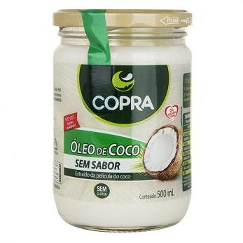 Oleo De Coco Sem Sabor 500ml Copra