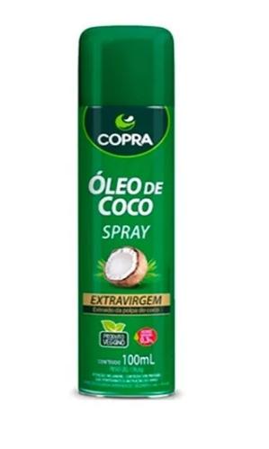Óleo De Coco Spray 100ml Extra virgem Copra