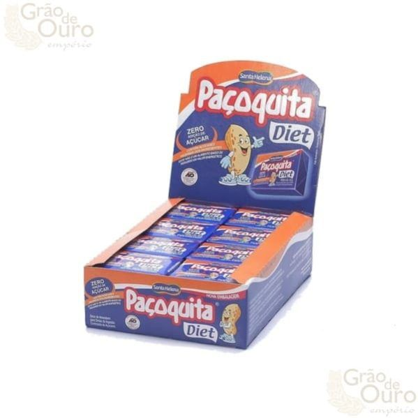 Paçoquita Diet Santa Helena Cx 24un