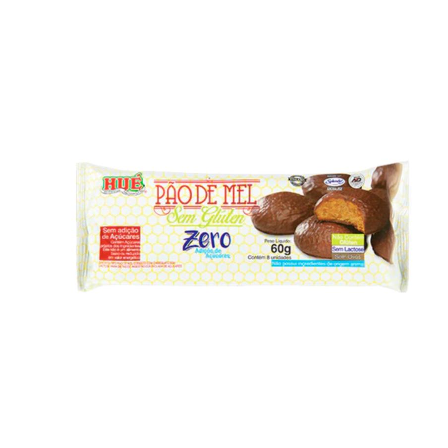Pão de Mel Sem Glúten Zero 60g Hue