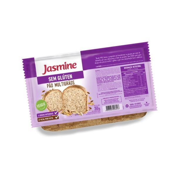 Pão Sem Glúten Multigrãos 350gr