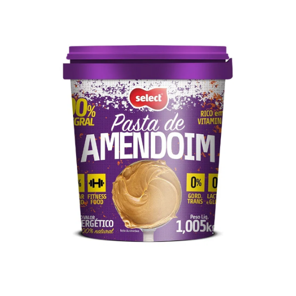 PASTA DE AMENDOIM 1,005KG SELECT