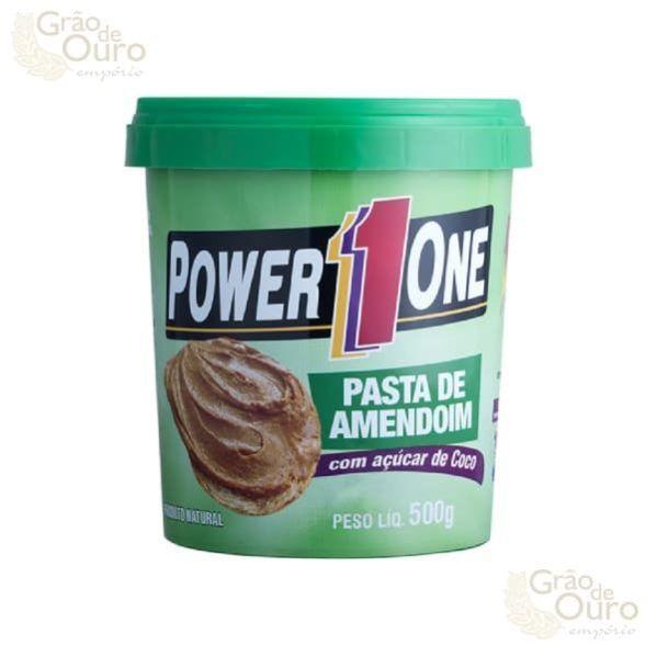 Pasta de Amendoim c/ Açúcar de Coco 500g Power One