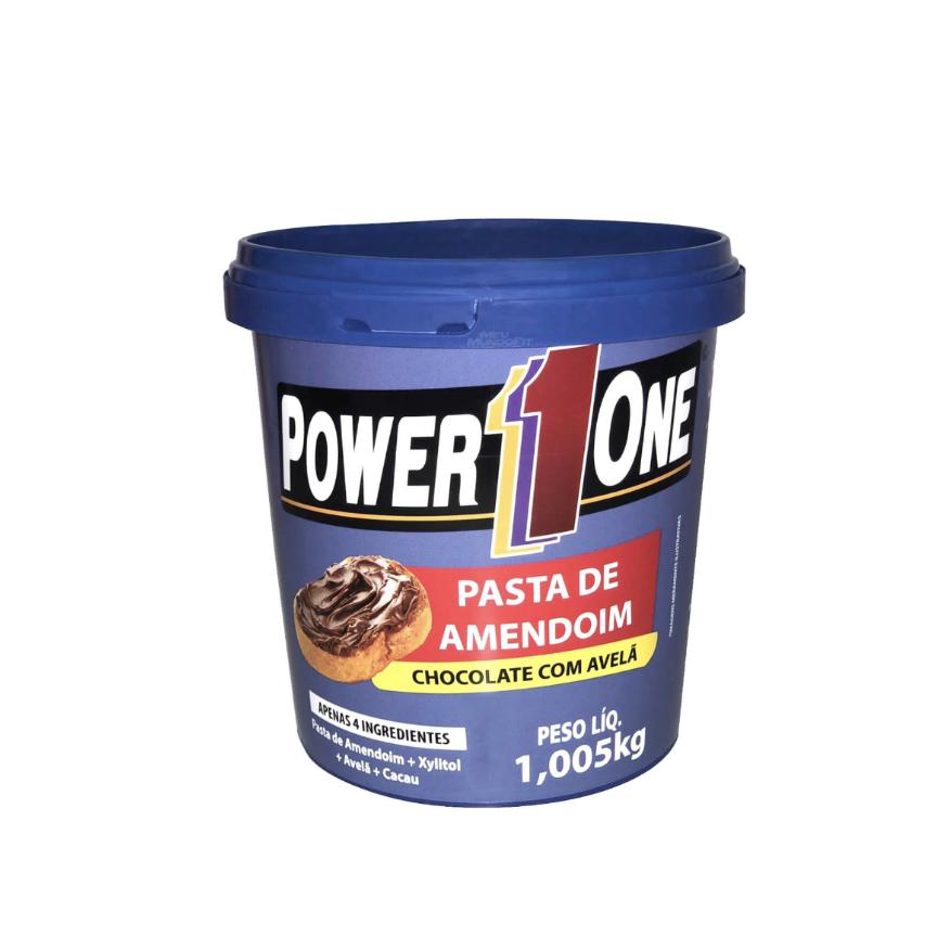 Pasta de Amendoim Choco/Avelã 1,005kg Power one
