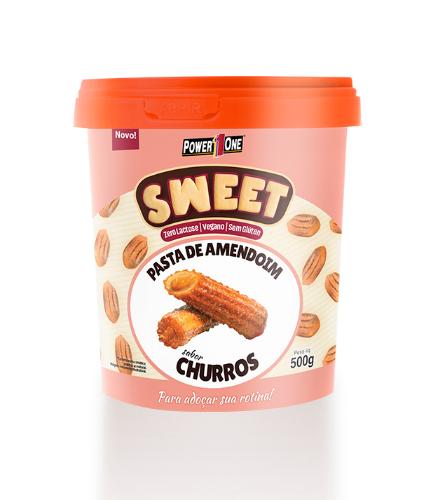 Pasta de Amendoim  Sweet 500g Churros Power One