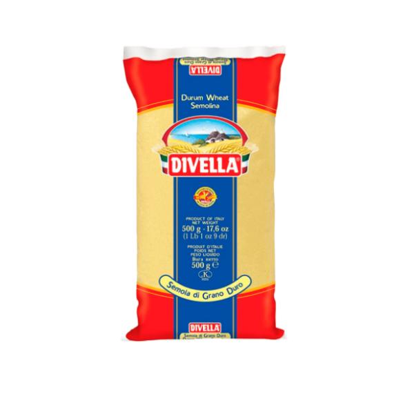 Semolina Fina 500g Divella
