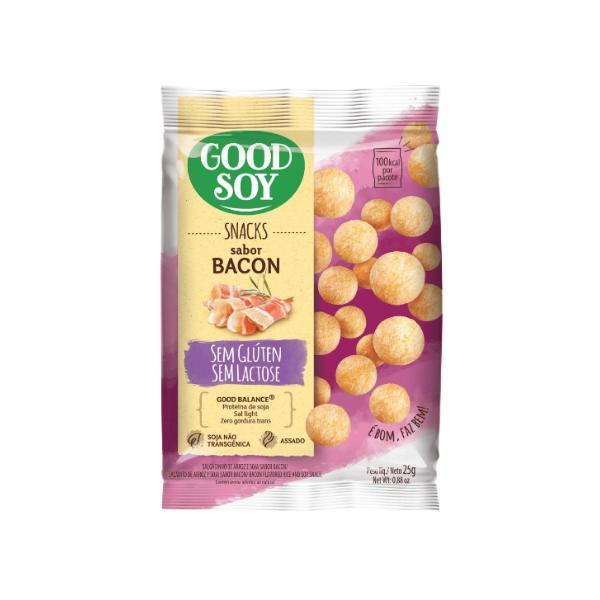 Snack de Bacon 25g Good Soy
