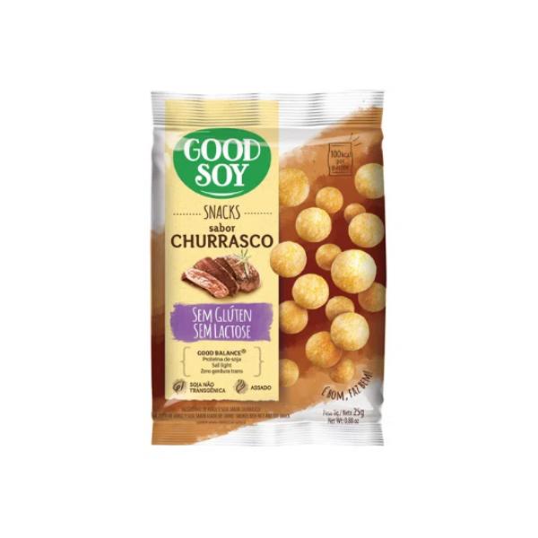 Snack de Churrasco 25g Good Soy