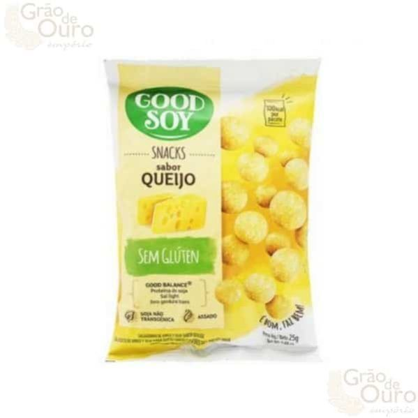 Snack de Queijo 25g Good Soy