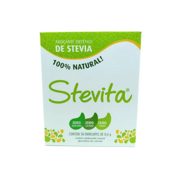Stevita Adoçante Sachet 50un (Stevia 100%)