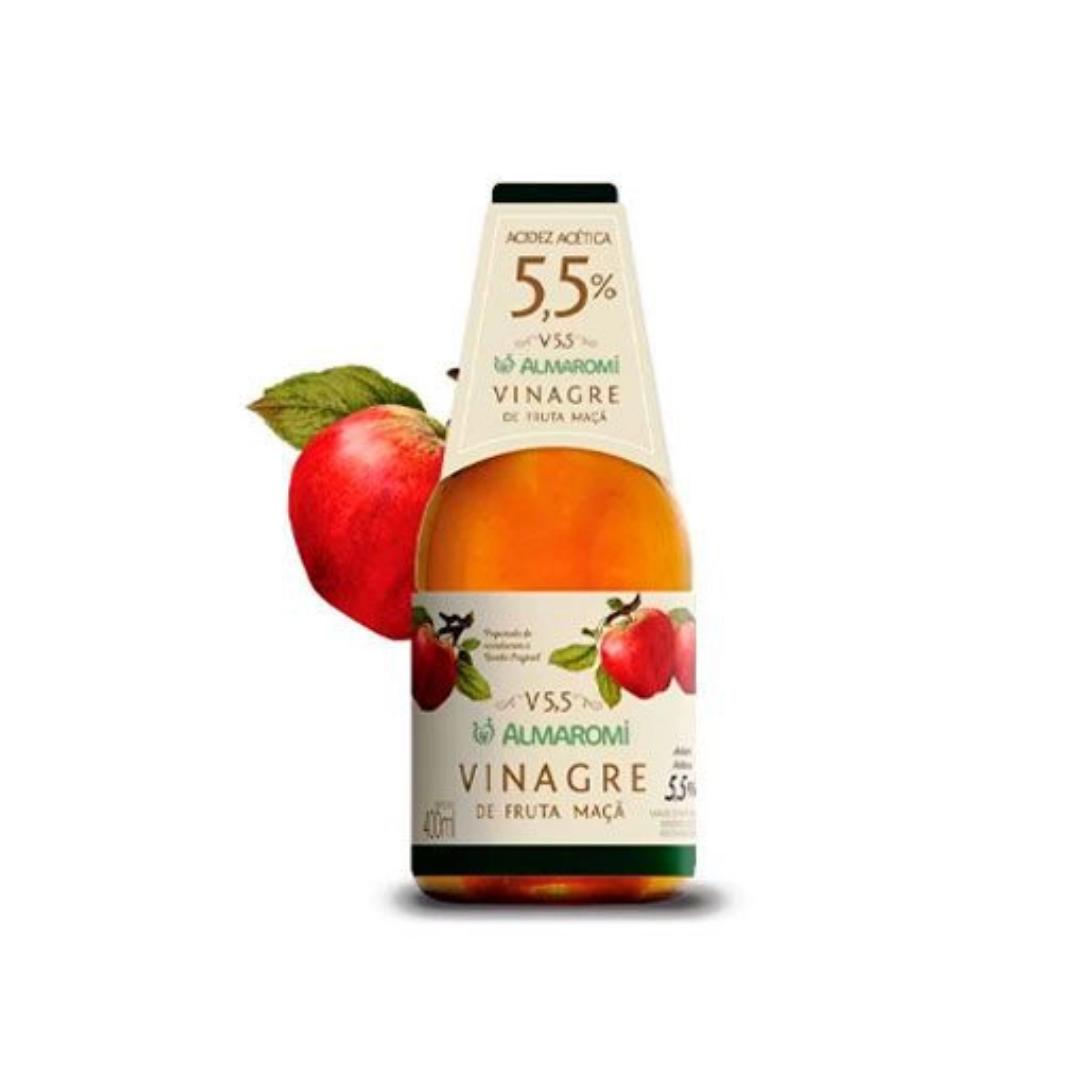Vinagre de Maçã 5,5% 400ml - Almaromi - Senhor Viccino