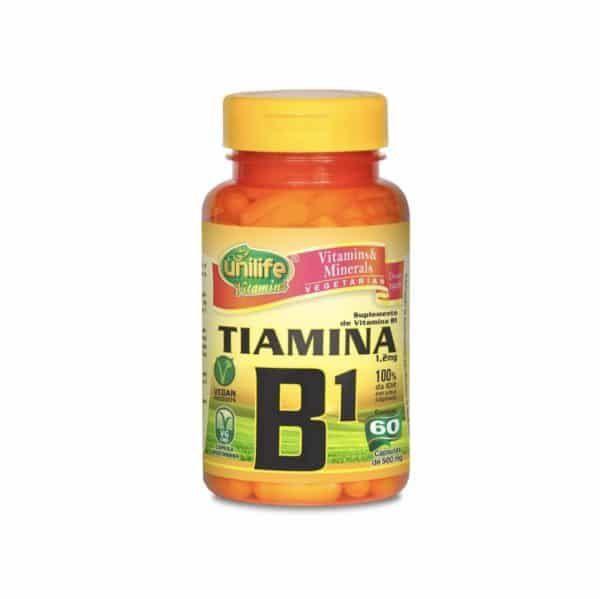 Vitamina B1 60 cáps. Unilife