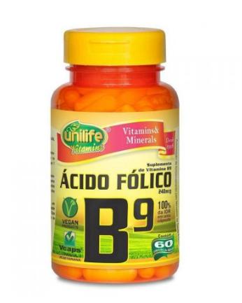 Vitamina B9 60 caps. Unilife