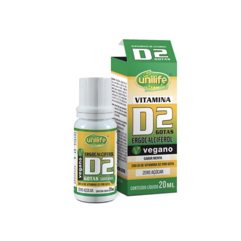 Vitamina D2 20ml Unilife
