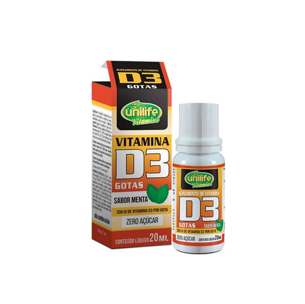 Vitamina D3 20ml Unilife