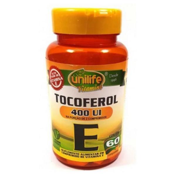 Vitamina E 60 Caps Unilife