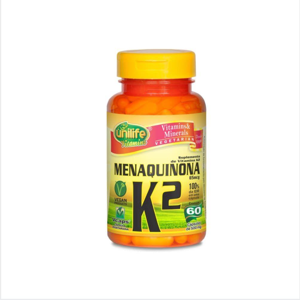Vitamina K2 60 cáps. Unilife