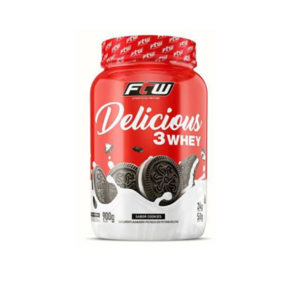 Whey delicious cookies 900g ftw
