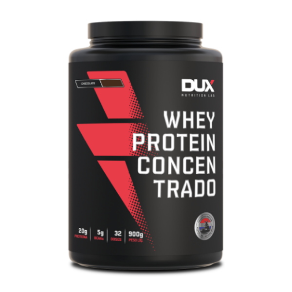 Whey Protein Concentrado Chocolate 900g DUX