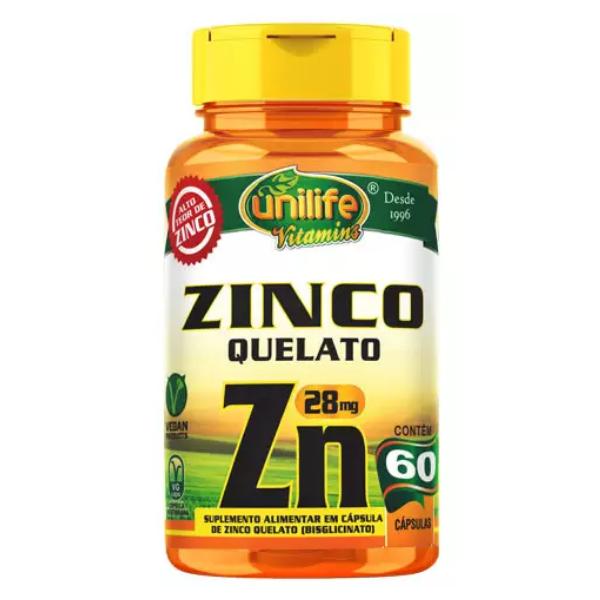 Zinco 60 Caps Unilife