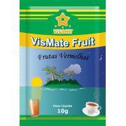 Chá Mate com Frutas Vermelhas VisMate Fruit Sachês - 100 unidades