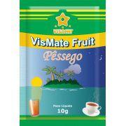 Chá Mate com Pêssego VisMate Fruit Sachês - 100 unidades