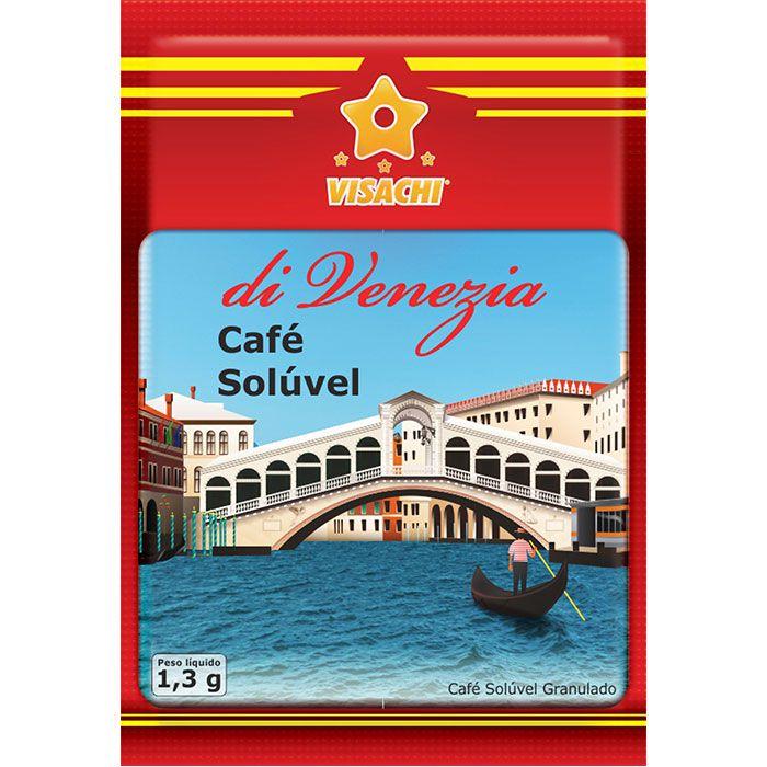 Café Solúvel di Venezia Sachês - 20 unidades  - Visachi Alimentos