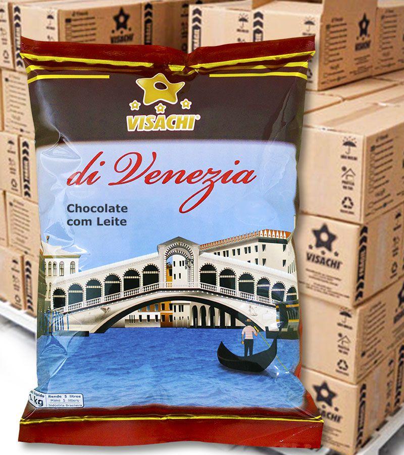 Chocolate com Leite di Venezia Premium Institucional - 1,020 kg  - Visachi Alimentos