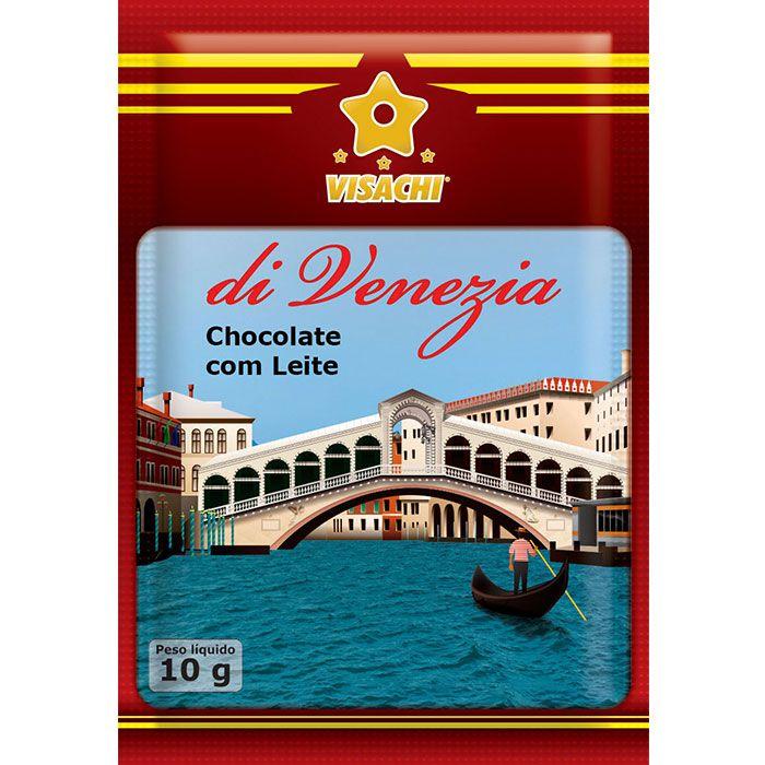 Chocolate com Leite di Venezia Sachês - 100 unidades  - Visachi Alimentos