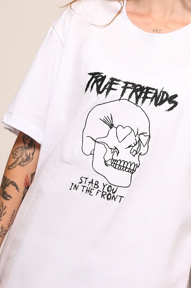Camiseta Maxi True Branca