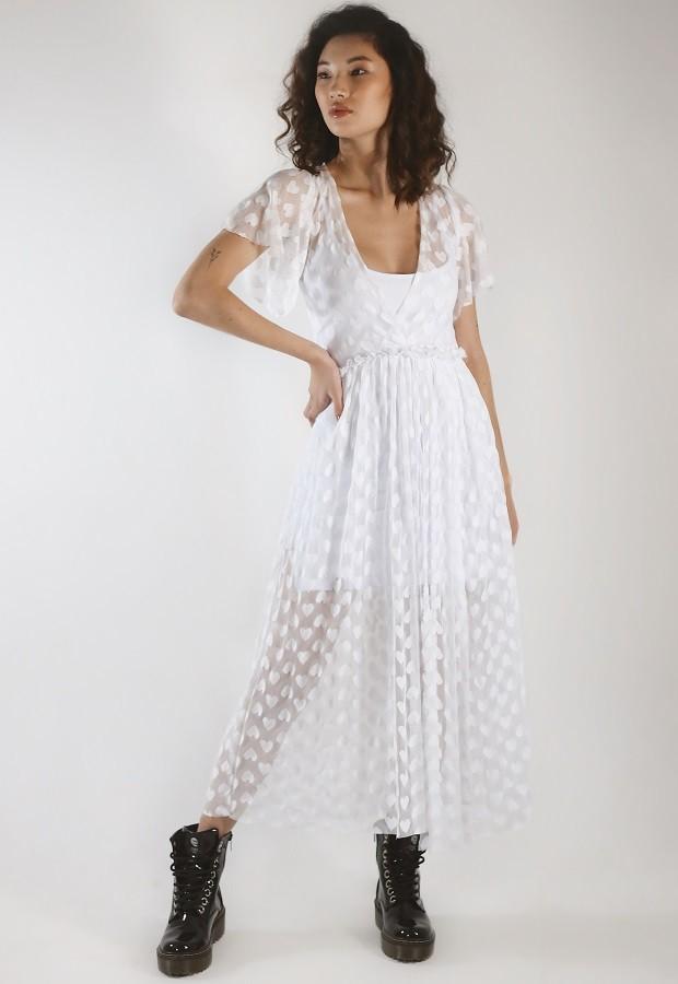 Vestido Ginger Branco