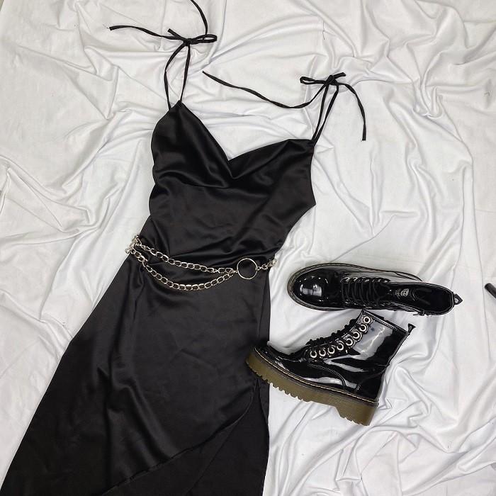 Vestido Rocker Preto