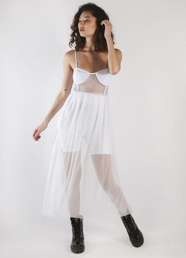 Vestido Trixie Branco