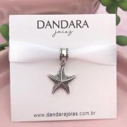 Berloque Estrela do Mar Pontilhada Prata 925