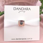 Berloque Instagram Retrô Prata 925