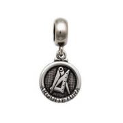 Berloque Medalha Arquitetura Prata 925