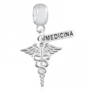 Berloque Medicina Prata 925